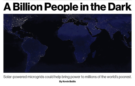 A Billion People in the Dark | MIT Technology Review | The  New  Media  Transformation | Scoop.it