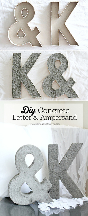 DIY Projects, Make Your Own Marquee Letters - Women's Suite | ponder this | Scoop.it