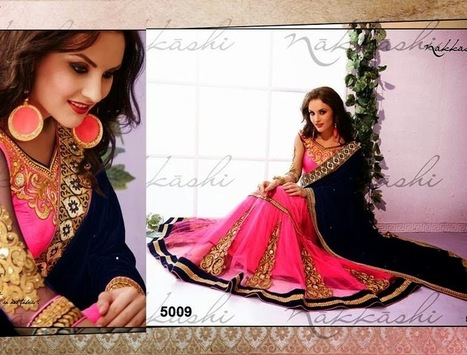 Stylish Sarees Collection For Young Brides By Indian Nakkashi From Summer 2014 | Women Fashion | Women fashion | Scoop.it