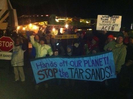 Umatilla Tribe Battles Mega-Loads Headed for Alberta Oil Sands | Oil Sands | Scoop.it