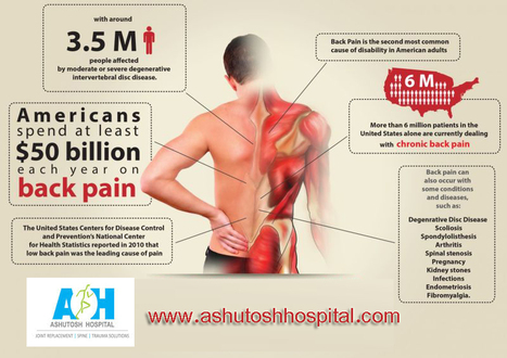 This Infographic Helps to Prevent Future Back Pain | Ashutosh Orthopaedic Hospital | Scoop.it