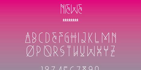 20 typographies et fonts gratuites à télécharger pour vos projets - typographies-ressources | Techniques modernes de création web | Scoop.it