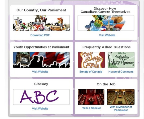 Education - Parliament of Canada | HCS Learning Commons Newsletter | Scoop.it