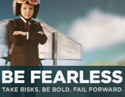 Join me and the Case Foundation and pledge to Be Fearless. | Wild Resiliency | Scoop.it