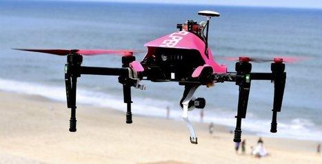 Un drone sauveteur pour aider les maîtres nageurs sur les plages | Libertés Numériques | Scoop.it