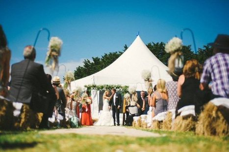 Wedding Reception Portfolio | Wedding Marquee Case Studies | Event Hire Peninsula | Scoop.it
