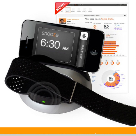 [SLEEP]  LARK | Silent Alarm Clock | Personal Sleep Coach | UX-UI-Wearable-Tech for Enhanced Human | Scoop.it