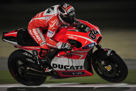 Andrea Dovizioso surprised at Ducati speed | Ductalk Ducati News | Scoop.it