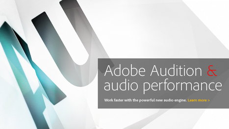 Home Recording News for Voice Actors | New Adobe Audition CS5.5 Has Landed. Now available for Mac-OS | Inside Voiceover—Cutting-edge Insights + Enlightening, Entertaining News for Voiceover Professionals | Scoop.it