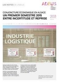 Strasbourg - Les Notes de l'ADEUS n°203 : économie | Dernières publications des agences d'urbanisme | Scoop.it