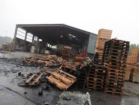 REI palettes (22). Après l'incendie, le travail reprend   Ouest France Entreprises   Inter Nettoyage Service Bretagne   Scoop.it