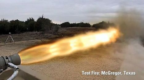 SpaceX Test Fires Awesome New Rocket | Space matters | Scoop.it