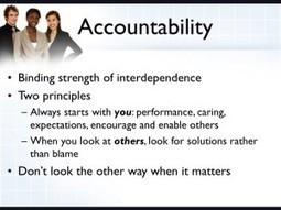 Accountability | digitalNow | Scoop.it