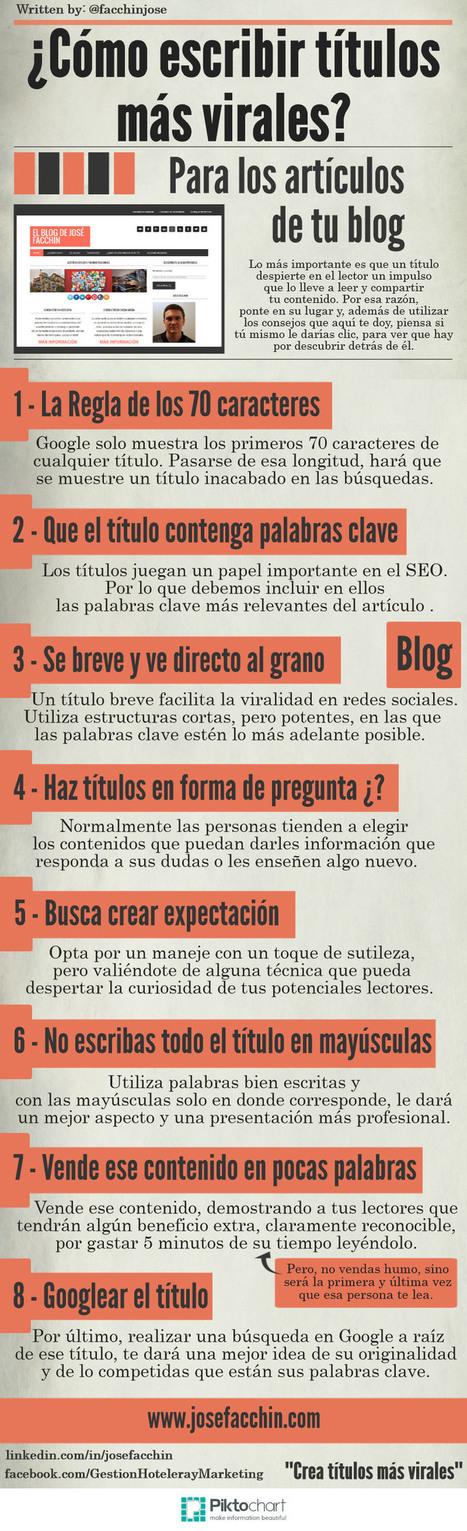 Guía para desarrollar un blog corporativo de éxito | Jota | Scoop.it