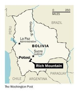 In Bolivia, miners pick away at Rich Mountain, but it takes back its own toll   Southern Hemisphere   Scoop.it