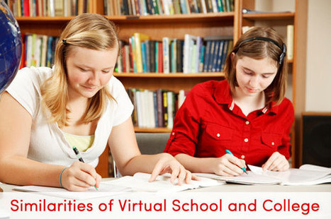 Why Virtual School for K-12 Grades Is More Like College than You Think | Virtual Professionals | Scoop.it