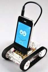 """""""Romo"""" Robot Controlled by Android or iOS Smartphones 