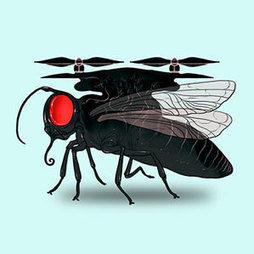 How Insect Vision Is Leading to More Sensitive Drones | MIT Technology Review | Science, Technology, and Current Futurism | Scoop.it