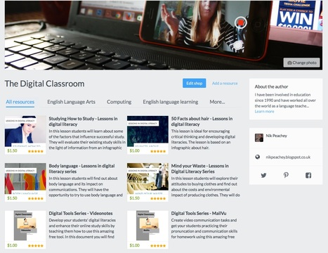 The Digital Classroom - TES | Teaching and Learning English through Technology | Scoop.it