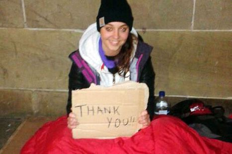 Scots charity worker racially abused on Glasgow street as she sleeps rough to raise money | Diversity&Attitude | Scoop.it