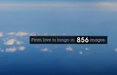 """""""From love to bingo"""" the advertising spot of Getty Images created with 873 stock pictures in one minute 
