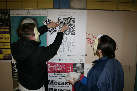 Anonymous, Hamburg. 2009. Qr code. | Civic design | Scoop.it