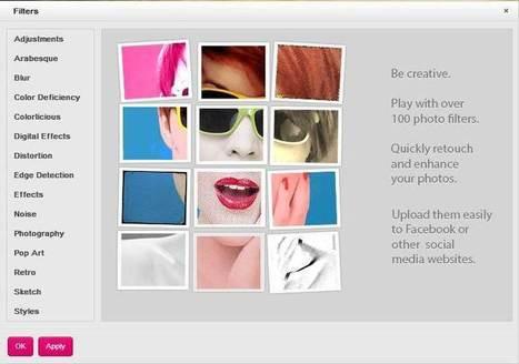 Un éditeur photo complet en ligne, Picozu | Retouches et effets photos en ligne | Scoop.it