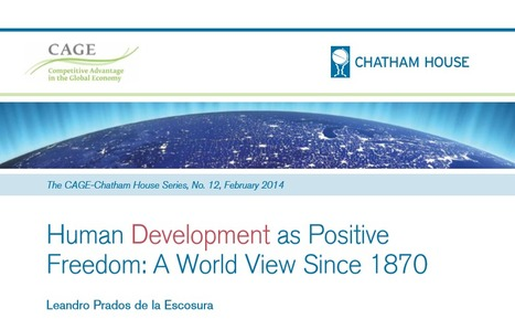Human Development as Positive Freedom: A World View Since 1870 | International Development Cooperation | Scoop.it