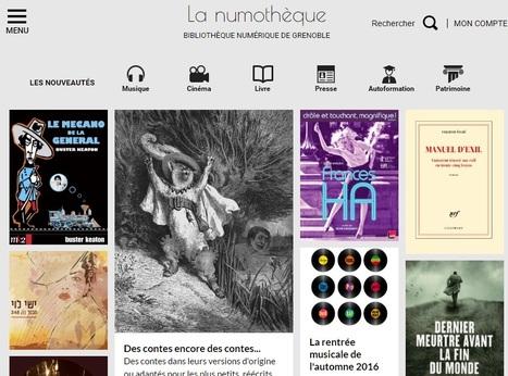 La numothèque :la bibliothèque numérique de Grenoble | Lecture, ressources et services numériques en bibliothèque | Scoop.it