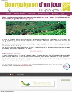 Éloge de la simplicité : l'exemple des greeters… « etourisme.info | E-vitrine territoriale | Scoop.it