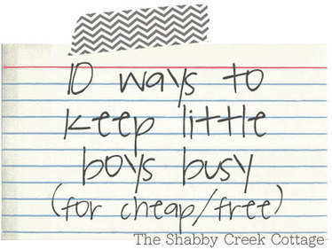 10 ways to keep little ones busy | Learn through Play - pre-K | Scoop.it