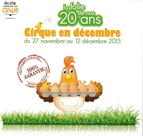 Les 20 ans de l'école de Cirque de Châtellerault | A découvrir dans le Pays Châtelleraudais | Scoop.it