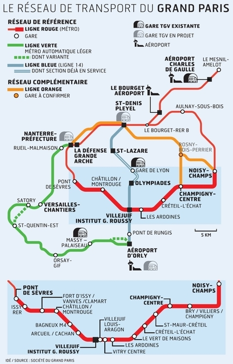 Le métro Grand Paris Express trace son chemin en banlieue | TPE.GPE | Scoop.it