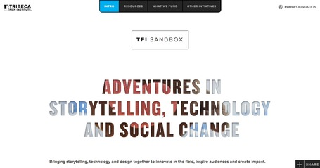 TFI Sandbox for Documentary Transmedia | Transmedia: Storytelling for the Digital Age | Scoop.it