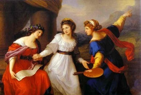 Famous Painters: Angelica Kauffmann | Artifacts | Scoop.it