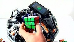 Lego robot solves Rubik's cube in three seconds | Hot HD Wallpapers News Pictures | Scoop.it