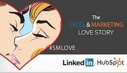 A Sales & Marketing Love Story: From LinkedIn & HubSpot [SlideShare] | LinkedIn for Sales Professionals | Scoop.it