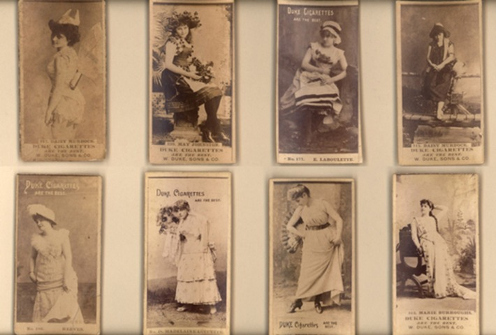 Antique Tobacco Trading Cards: Sex In Advertising, Or Sexist Collectors? | Sex History | Scoop.it
