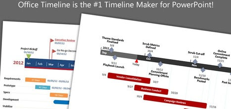 Create Professional Timelines in PowerPoint :: Free Add-in | Educatief Internet | Scoop.it