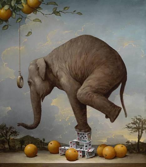 el realismo alegórico de kevin sloan | El Mundo del Diseño Gráfico | Scoop.it