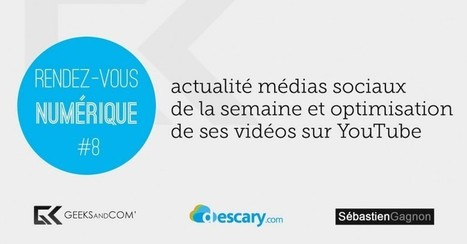 Rendez-vous Numérique : comment optimiser les vidéos que vous publiez sur YouTube   Freewares   Scoop.it