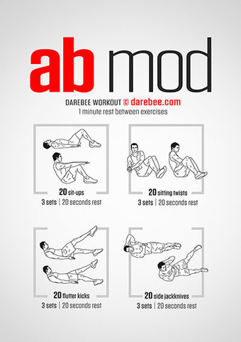 Darebee: Workout Posters for Any Exercise | technologies | Scoop.it