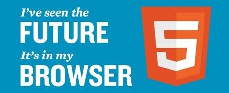 HTML5, la leçon d'aujourd'hui. Allez, en classe!!! | La Rédac' en parle | Social Input | Scoop.it