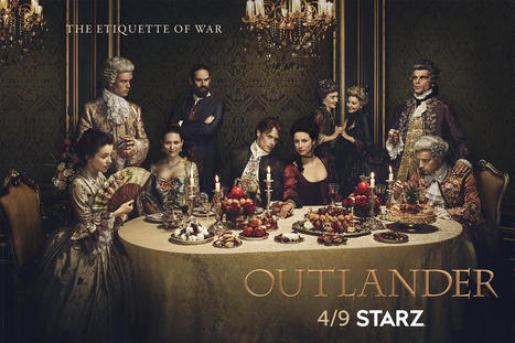 This Outlander Season 2 Poster Is Just Delicious | Daring Fun & Pop Culture Goodness | Scoop.it