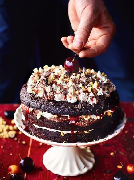 Beautiful Black Forest Gateau   Chocolate Recipes   Jamie Oliver   ♨ Family & Food ♨   Scoop.it