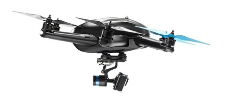 "[Geek] ""Hexo+"" Let Your GoPro Fly and Follow You with a drone 