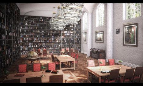 Thibault Houdon : bibliothèque sous Blender et V-Ray - Actualité sur 3DVF.com. | Animation dans les EPN | Scoop.it