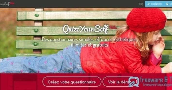 QuizzYourSelf : un outil pour créer, diffuser et analyser des questionnaires ~ Freewares & Tutos | TIC et TICE mais... en français | Scoop.it