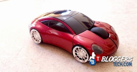 7300 Car Shaped 2.4G Wireless Optical Red Mouse Review | Bloggers Tech | Scoop.it