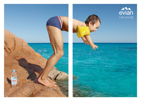 Cet été buvez de l'Evian en Slip (Français) | Branding - S.Ducroux | Scoop.it
